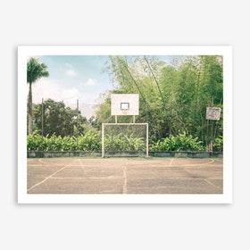Streetball Courts 2 Manizales Art Print