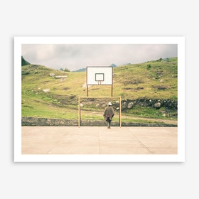 Streetball Courts 2 El Cocuy Art Print