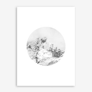 Landscapes Circular 3 El Cocuy Art Print