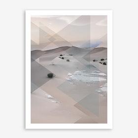 Landscapes Scattered 3 Death Valley Art Print