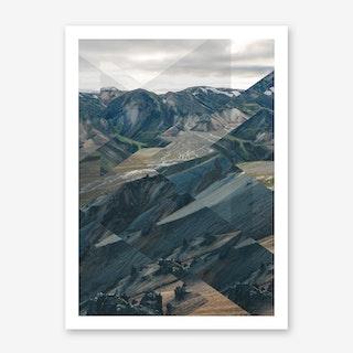 Landscapes Scattered 3 Landmannalaugar Art Print