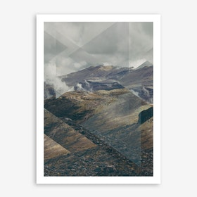 Landscapes Scattered 3 Thorsmörk Art Print