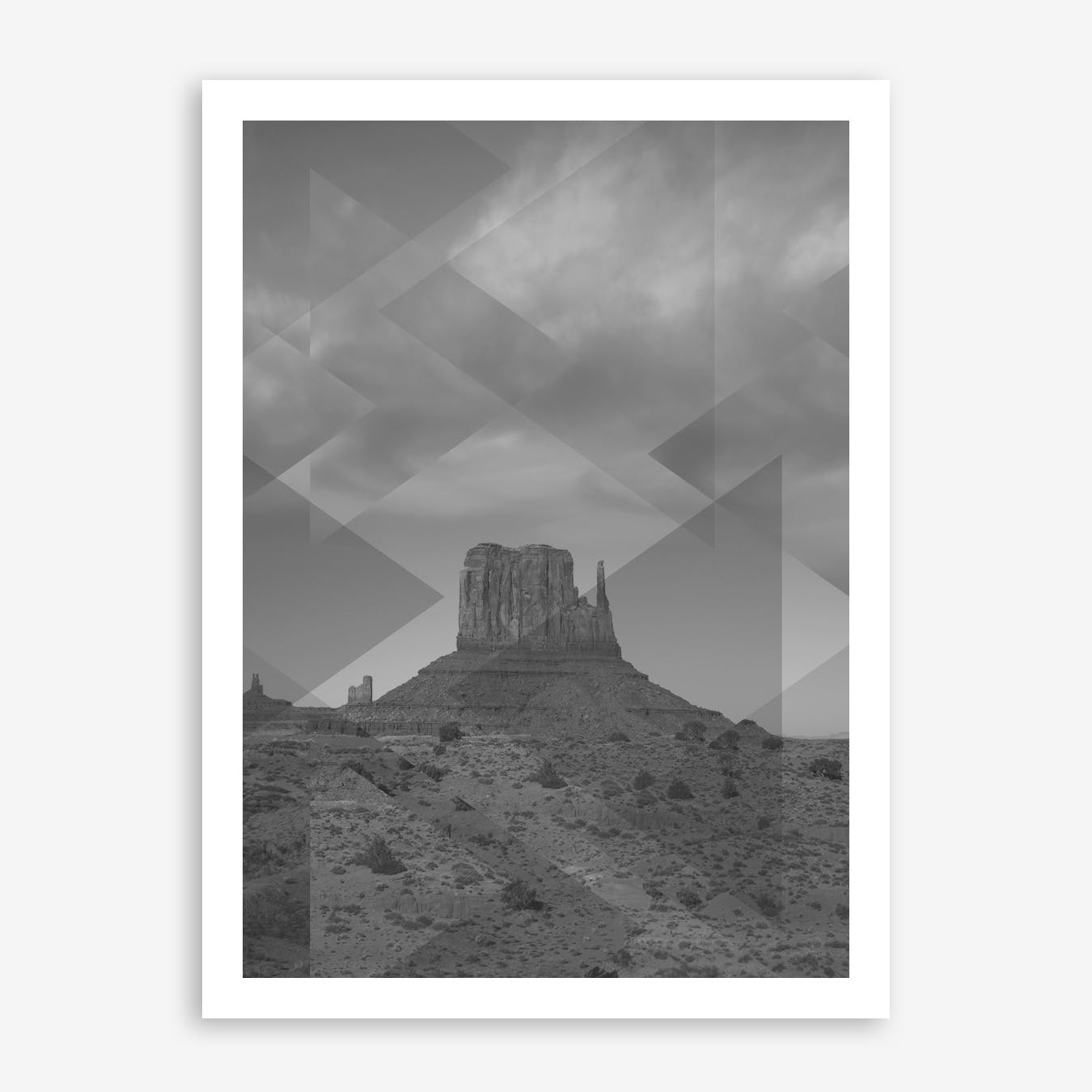 Landscapes Scattered 4 Monument Valley