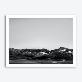 Landscapes Raw 6 Salar de Uyuni Art Print