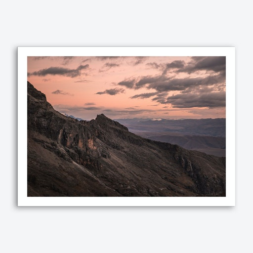 Landscapes Raw 7 Huaraz Art Print