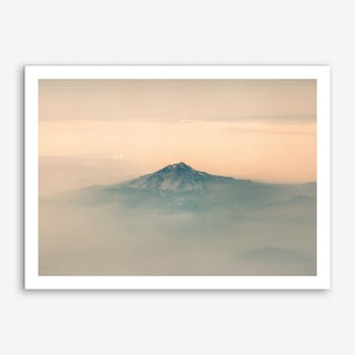 Landscapes Raw 7 Wyoming Art Print