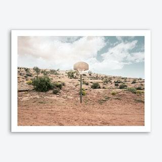 Streetball Courts 1 Arizona Art Print