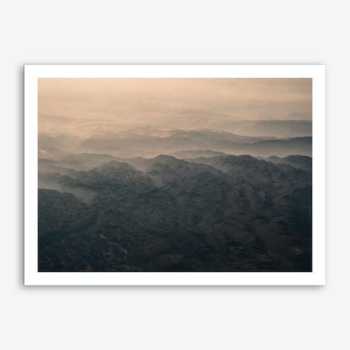 Landscapes Raw 5 Andes Art Print