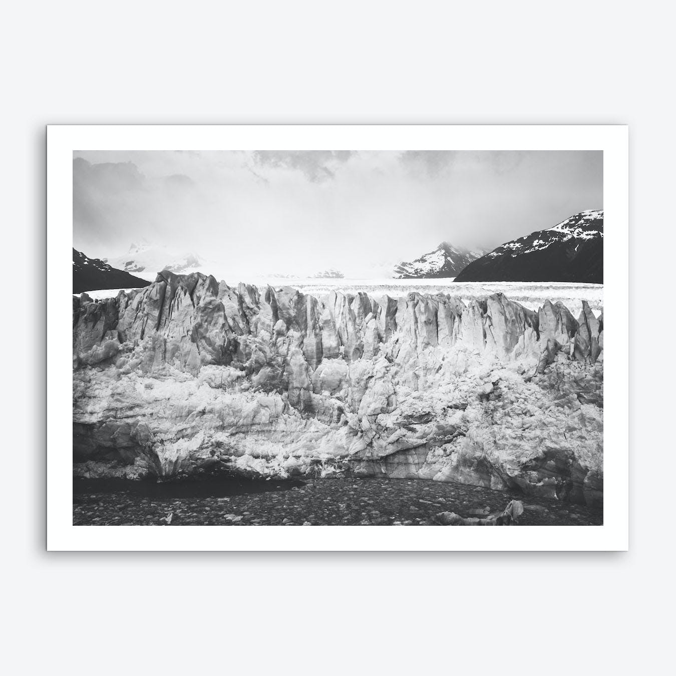 Landscapes Raw 5 Perito Moreno Art Print