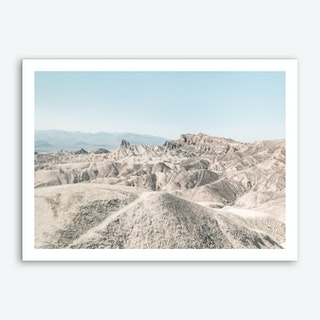 Landscapes Raw 6 Golden Canyon Art Print