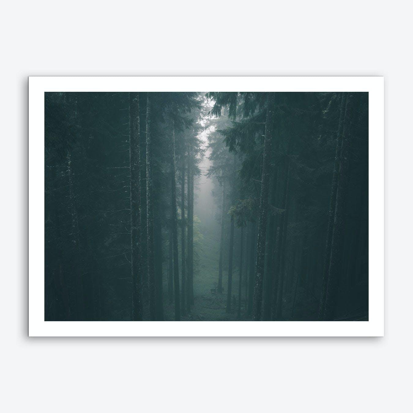 Landscapes Raw 6 Karwendel Art Print