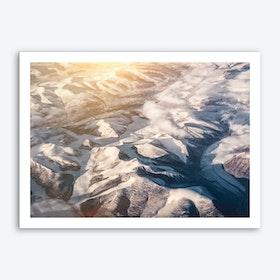 Landscapes Raw 6 Nanortalik Art Print