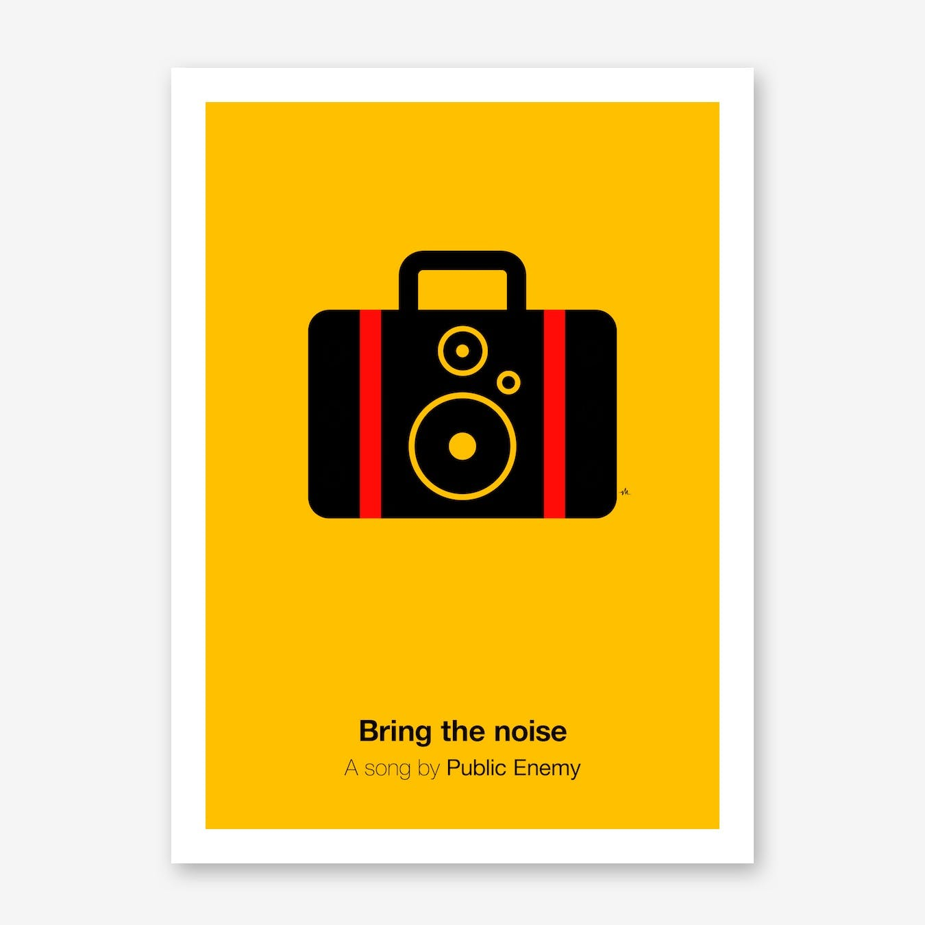 Bring The Noise Print
