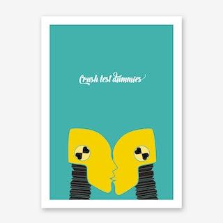 Crush Test Art Print
