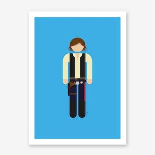 Han Solo 2 Art Print