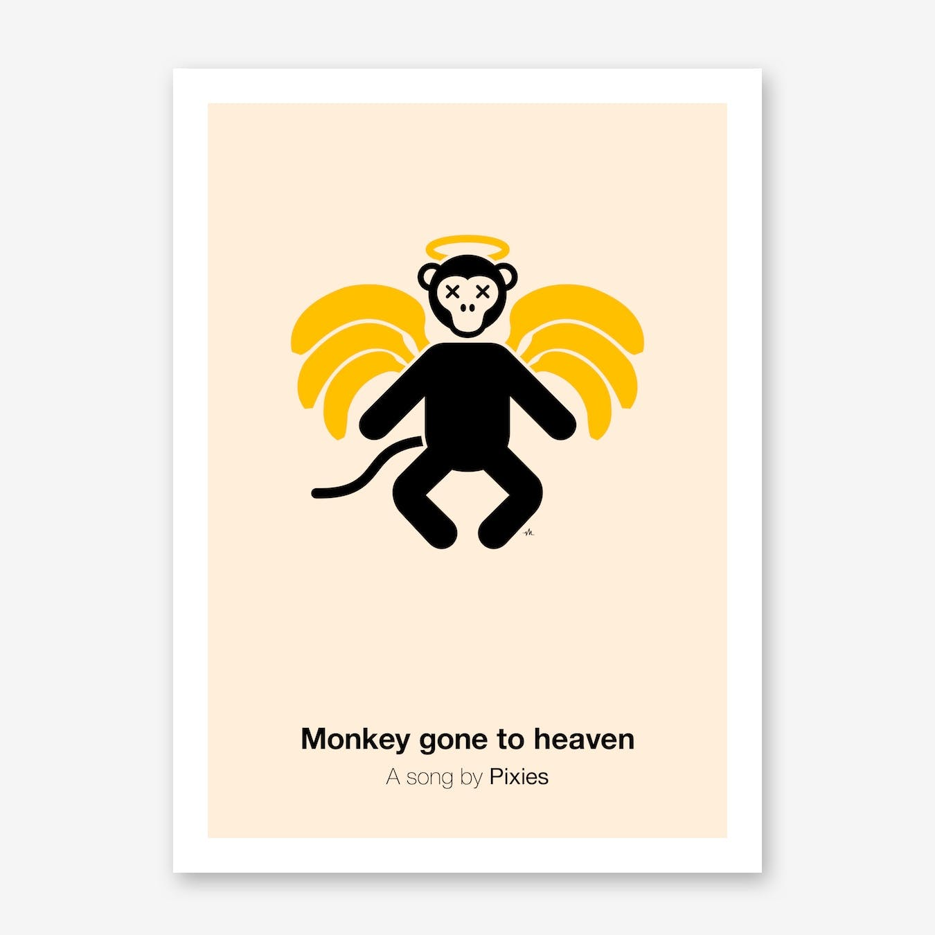 Monkey Gone To Heaven Print