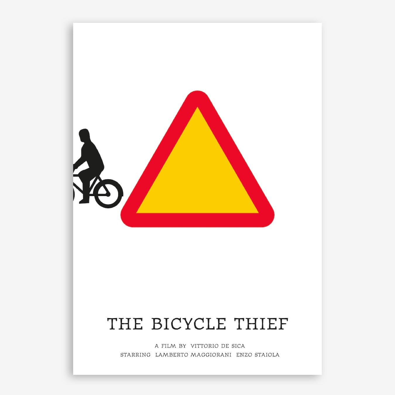 The Bicycle Thief Print