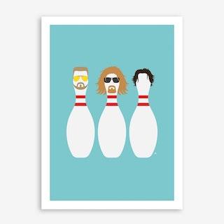 The Dude 2 Art Print