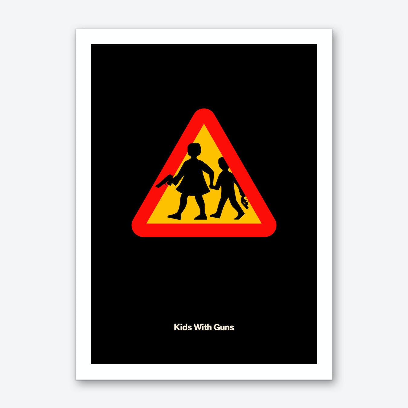 Kids with Guns Art Print