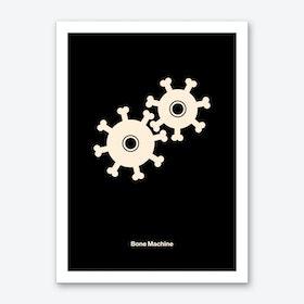Bone Machine Art Print