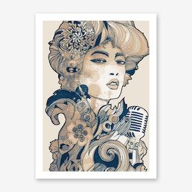 Blues II Art Print