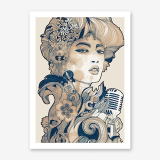 Blues II Art Print