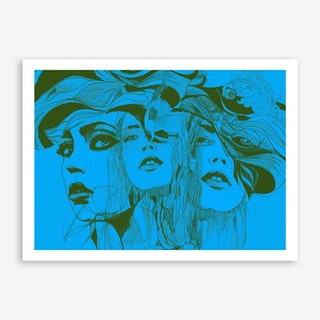 Danielle 3 Art Print