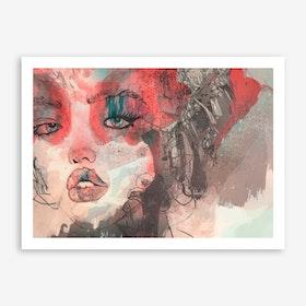Kiss Me I Art Print