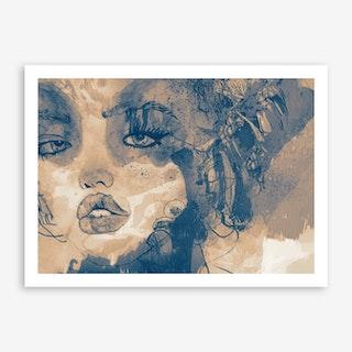 Kiss Me II Art Print