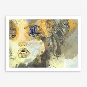 Kiss Me III Art Print