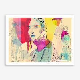 Lone I Art Print