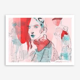 Lone II Art Print