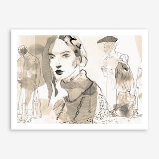 Lone VI Art Print