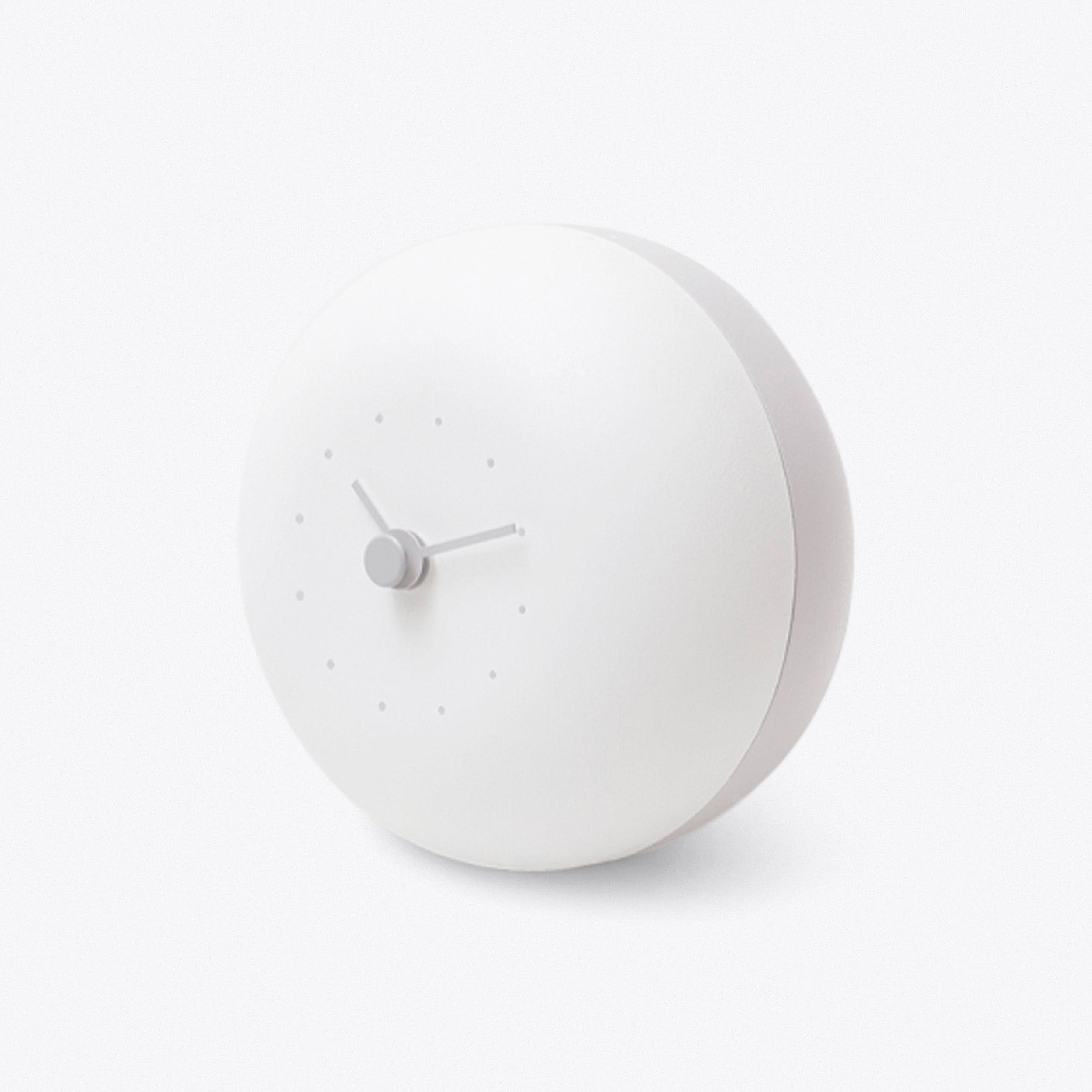 Pau Clock In White