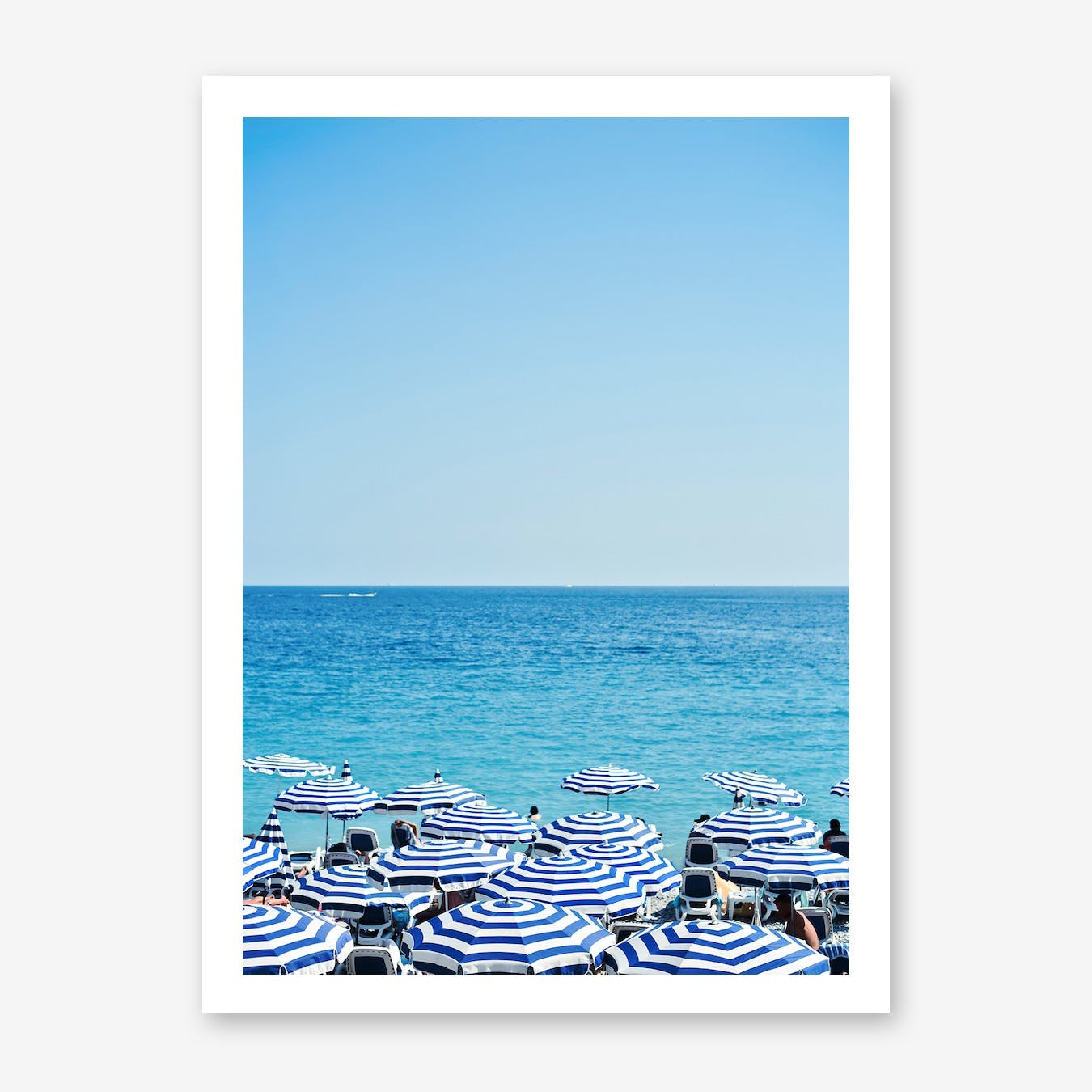 Hues of Blue Print