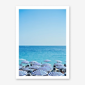 Hues of Blue Art Print