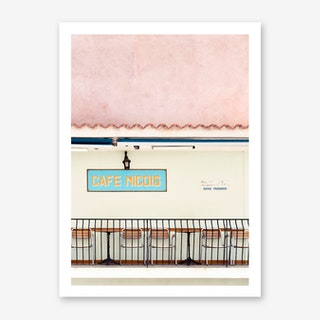 Cafe Nicois Art Print