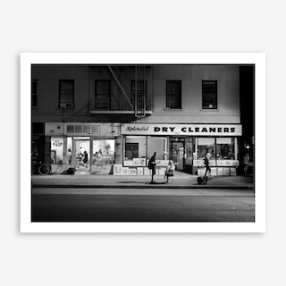 Dry Cleaners Art Print