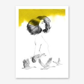 Cécile Art Print