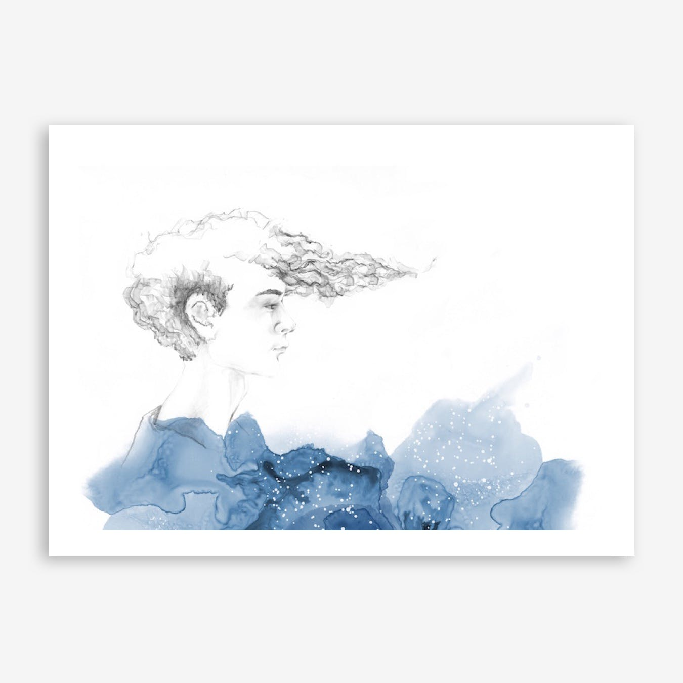 His Seacret Print
