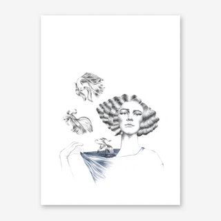 My Mermaid Art Print