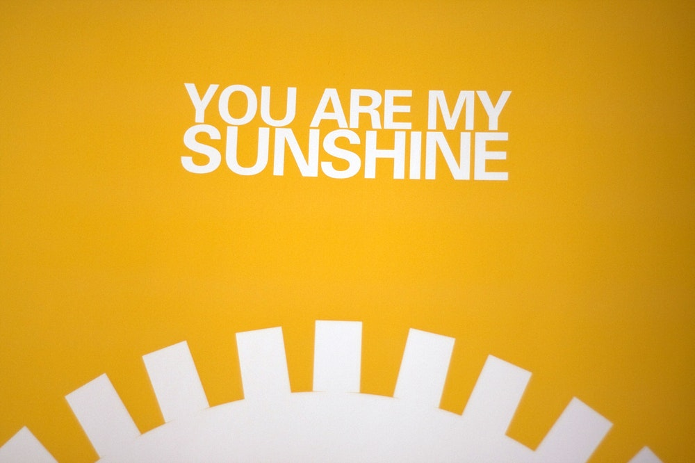 You Are My Sunshine Print Free Shipping Fy