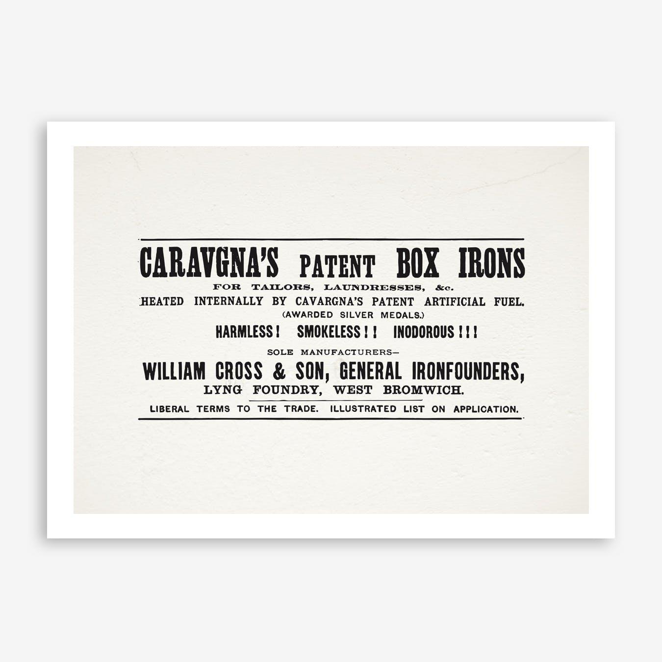 Caravagnas  Square Print
