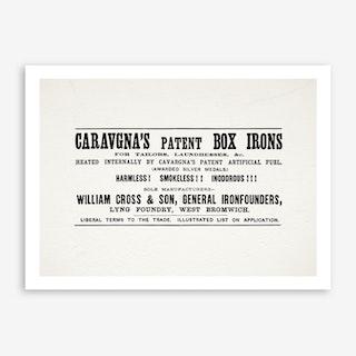 Caravagnas Square Art Print