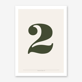 2 Bodoni Art Print