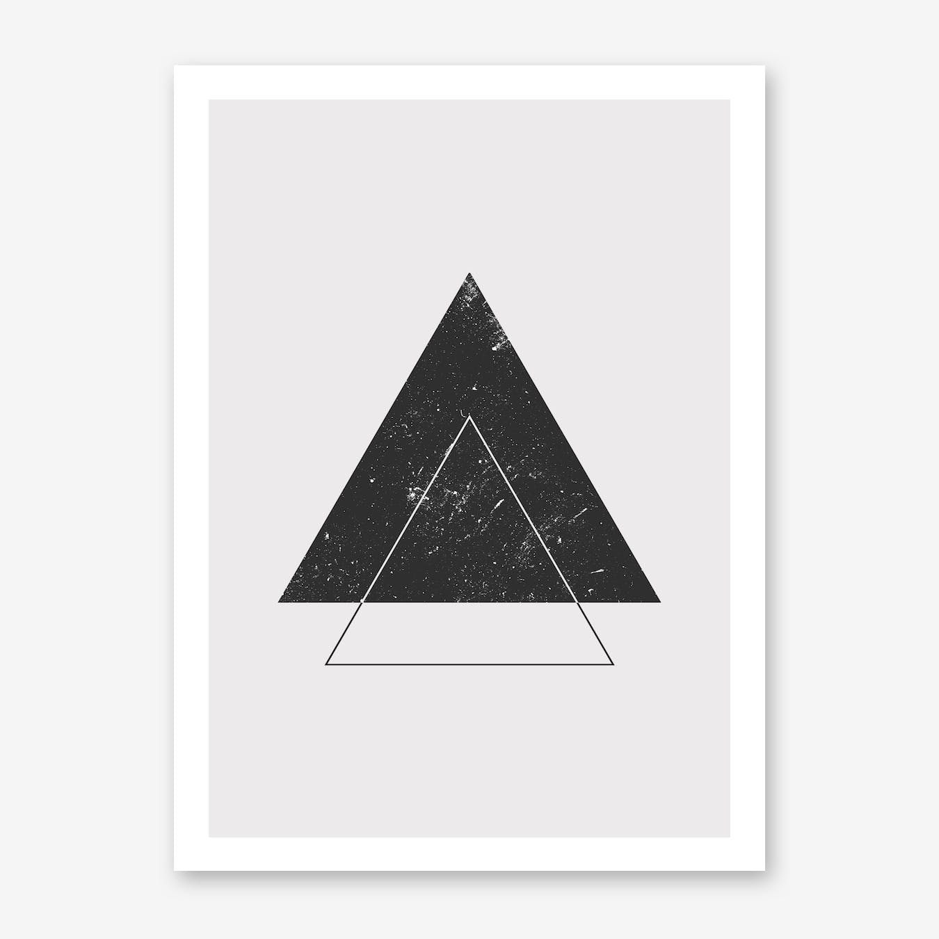 Triangle Space Print