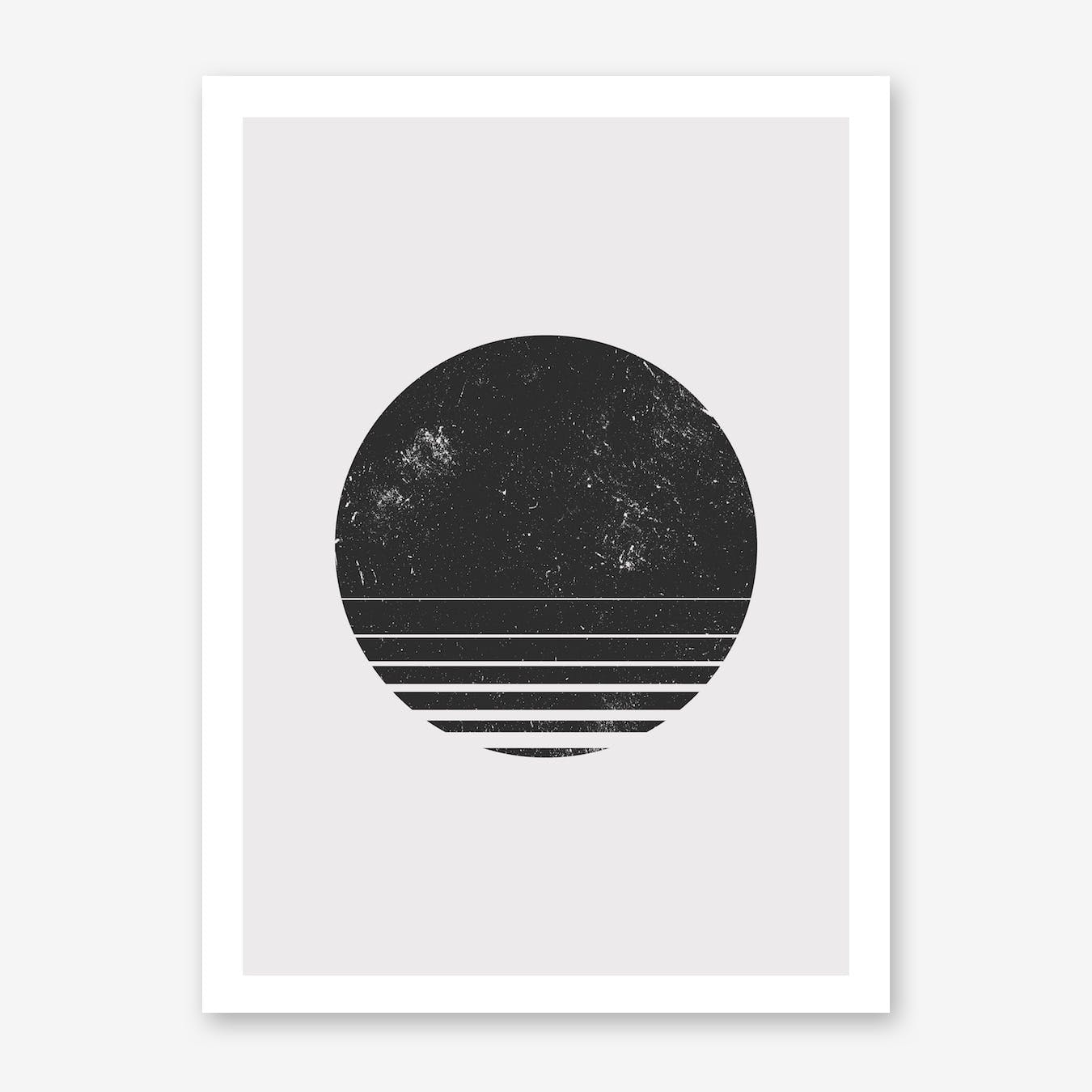 Round Space Print