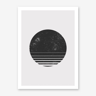 Round Space Art Print