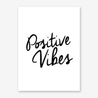 Positive Art Print