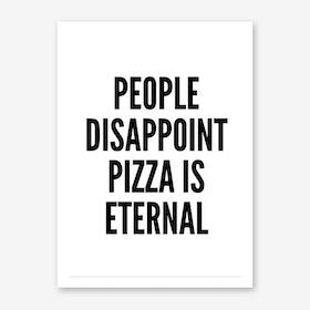 Pizza-K Art Print